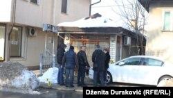 Mjesto eksplozije, foto: Dženita Duraković