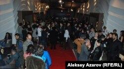«Еуразия» кинофестивалінің ашылуына келген жұрт. Алматы, 19 қыркүйек 2015 жыл.