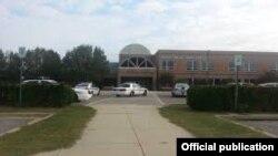 АҚШ-тың Мэриленд штатындағы Great Mills High School мектебі. 20 наурыз 2018 жыл