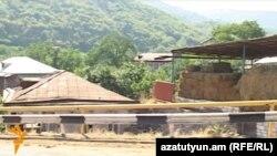 Село Баганис Тавушской области Армении
