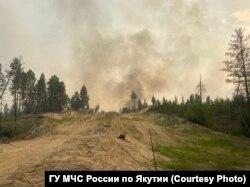 Пожары в Якутии. Лето 2021 года