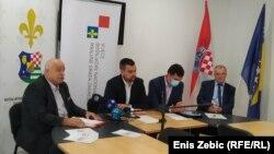 Pres-konferencija bošnjačkih organizacija pred popis, Zagreb (9. rujna 2021.)