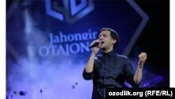 Певец Джахонгир Атаджанов.