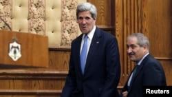 Džon Keri i Naser Džudeh, 22. maj 2013.