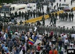 Акция протеста оппозиции. Каракас. 16 апреля 2013 года