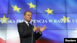 Poland assumes six-month Presidency of the European Union on July 1.
