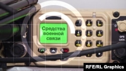 Grafics - Military communications ( Illustration for Donbass TV )
