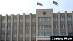 ساختمان پارلمان چچن در گروزنی