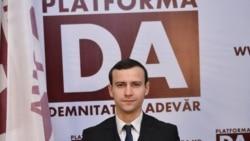 Deputatul Dinu Plângău într-o discuție cu Valentina Ursu