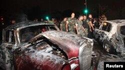 Pamje nga një sulm i mëparshëm vetëvrasës në Liban