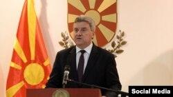 Президент Македонии Георге Иванов.