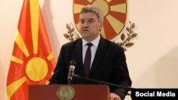 Архивска фотографија- обраќање на претседателот на Македонија Ѓорге Иванов