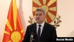 Macedonian President Gjorge Ivanov (file photo)
