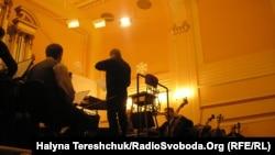 Вперше музиканти Львівської філармонії виконали музику українського кіно