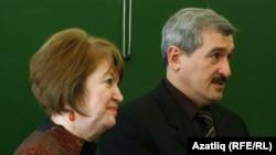 Зәкия Саласкина һәм Александр Богданов