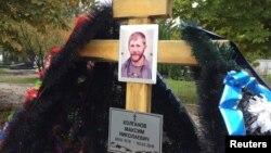Тольятти. Могила Максима Колганова, убитого в Сирии.