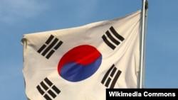 Флаг Южной Кореи.
