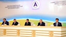Главы стран центральной Азии на саммите по спасению Арала.