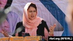فوزیه کوفی عضو هيئت مذاکره کننده حکومت