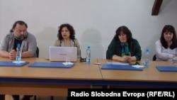 Јавна дебата - Дали има слобода за слобода на изразување во Македонија во Битола.