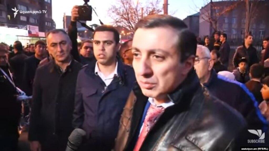 Мигран Погосян: Я не давал распоряжений своему помощнику