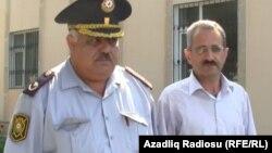 'Tolışi sado' qəzetinin baş redaktoru Hilal Məmmədov (sağda), 22iyun2012