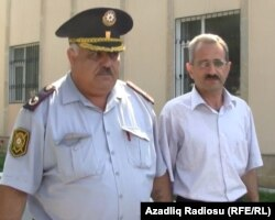 Hilal Məmmədov (sağda), Bakı, 22 iyun 2012