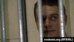Уладзімер Мальцаў падчас суду