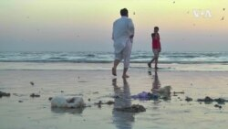 Outcry Over Syringes And Medical Waste On Pakistani Beach