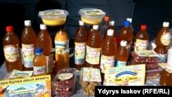 Кыргызстандын азыктары.