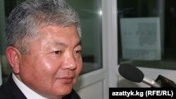 """Аликбек Жекшенқұлов, """"Ақиқат"""" партиясының жетекшісі. Қырғызстан"""