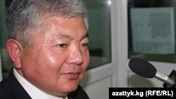 Chairman of the opposition Akyikat (Truth) party, Alikbek Jekshenkulov (file photo)