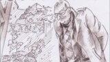 Фридрих Горенштейн. Рисунок Ольги Юргенс. Фрагмент
