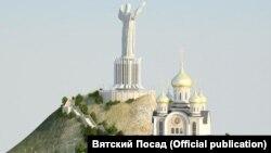 Проект статуи Иисуса Христа во Владивостоке