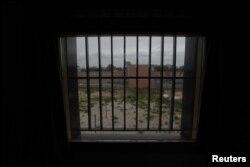 Вид из окна камеры в Швенингене