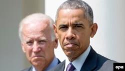 Președintele Barack Obama și vicepreședintele Joe Biden