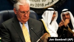 Američki državni tajnik Rex Tillerson u Kuwaitu