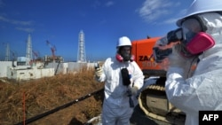 Біля пошкодженої АЕС «Фукусіма-1», архівне фото