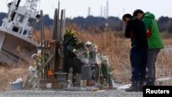 Город Намие, префектура Фукусима, 11 марта 2014 года