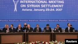 Suriya sülh danışıqları - Astana, 23 yanvar 2017