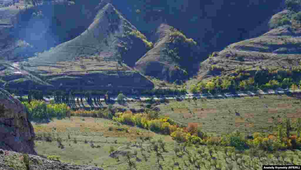 Автодорога «Сонячна Долина – Судак» – кінцевий пункт маршруту