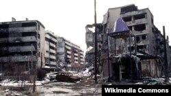 Posljedice ratnih razaranja u Sarajevu