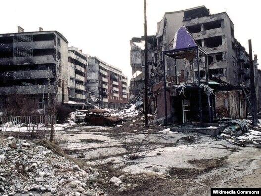 Sarajevo tokom rata 1996. godina