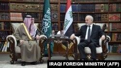 دیدار عادل الجبیر با وزیر خارجه عراق/ آخرین بار یک وزیر خارجه عربستان سعدی در سال ۲۰۰۳ از بغداد دیدار کرده است.