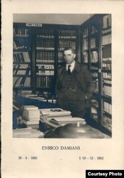 Славист Энрико Дамиани