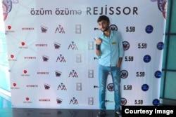 """""""Azerbaijan Youth Film Festival"""" ın iştirakçılarından biri."""