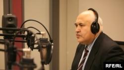 Radio Azadi journalist and AIB Award nominee Zarif Nazar