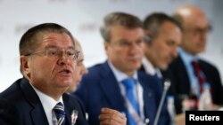 Алексей Улюкаев на Гайдаровском экономическом форуме в Москве