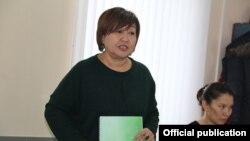 Руководитель правозащитного движения «Бир дуйно - Кыргызстан» Толекан Исмаилова.