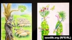 Заманбап өзбек карикатураларынан. 31.3.2016.